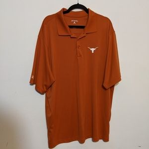 Texas Longhorns Antigua Polo XXL 2XL Embroidered